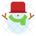 Snow Ball Christmas Icon