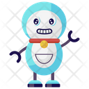 Snowman Robot Mechanical Robot Bionic Man Icon
