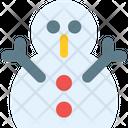 Snowman Sculpture Icon