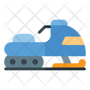 Snowmobile Snow Vehicle Icon