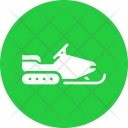 Snowmobile Travel Transport Icon