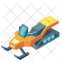 Snowmobile Snow Mobile Icon