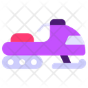 Snowmobile Snow Sledge Snowmachine Icon
