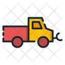 Snowplow Snow Plow Truck Icon