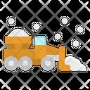 Snowplow Automobile Winter Icon