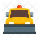Snow Plow Truck Icon