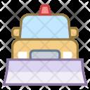 Snowplow truck Icon