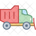 Snowplow Snow Truck Icon