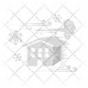 Snowstorm Freeze Ice Strom Icon