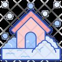 Snowstorm Snow Weather Ice Stromclod Climate Icon