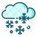 Snowy Snowy Weather Weather Icon