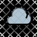 Snowy Cloud Rain Cloud Icon