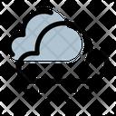 Snowy Sand Cloud Icon