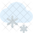 Snowy Snowfall Icon