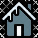 Snowy Building Icon