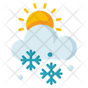Snowy Day Snowy Weather Weather Icon