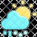 Snow Rain Sun Icon