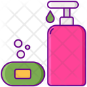 Soap Liquid Cleaning Equipment Icon