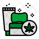 Cannabis Healthcare Foam Icon