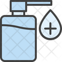 Sanitizer Cleaner Soap Icon