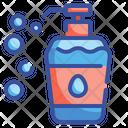 Soap Bottle Bath Shampoo Icon