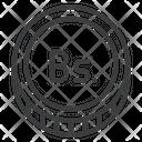 Venezuelan Bolvar Ves Icon
