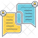 Socail Engagement Customer Customer Retention Icon