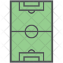Soccer Football Field Icon
