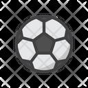 Soccer Football Soccer Ball Icon