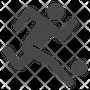 Soccer Dribbling Icon