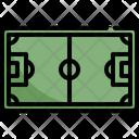 Soccer Field Football Icon