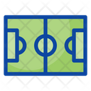 Soccer Field Playground Football Field Icon