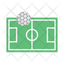 Soccer Pitch Ground Icon