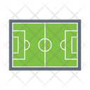 Soccer Ground Soccer Field Pitch Icon