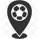 Soccer Match Location Icon