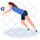 Sport Outdoor Game Soccer Icon