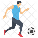 Soccer Player Football Player Olympic Game Icon