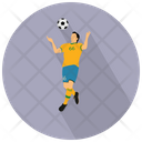 Soccer Player Sportsman Football Player Icon