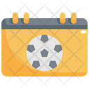 Calendar Soccer Football Icon