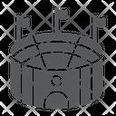 Soccer stadium Icon