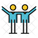 Sociable Community Communication Skill Icon