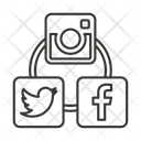 Social Networks Network Icon