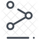 Social Connections Structure Icon