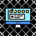 Social Page Computer Icon