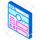 Social Account Web Icon