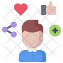 Social Activity Man Icon