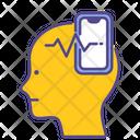 Social Addict Mental Health Disorder Icon