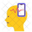 Social Addict Mental Health Disorder Icon