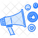 Social advertising Icon