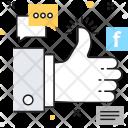 Social Campaign Thumb Icon